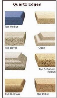 corian edges corian countertop edges engineered quartz countertop