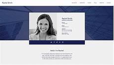 Website Cv Portfolio Amp Cv Website Templates Wix