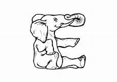 Malvorlagen Dm Cc Malvorlage E Elephant Kostenlose Ausmalbilder Zum