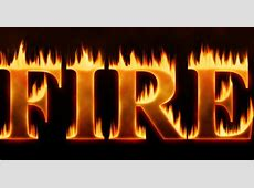 Flaming Hot Fire Text In Photoshop   iPhotoshopTutorials