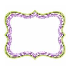 add a frame to your picture purple border frame freepngimg