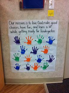 Classroom Mission Statement We Talk About How We All Work Together To Reach Our