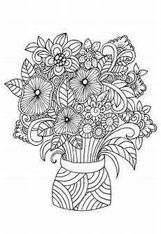 Ausmalbilder Blumenvase Ausmalbilder Blumenvasen22 Ausmalbilder Blumen