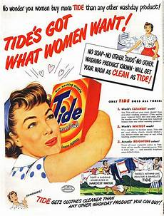 Advertisement For A Product Tide What Women Want Please Note That The Various