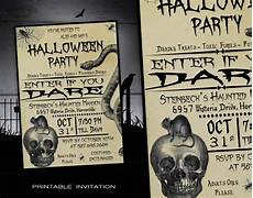 Free Printable Halloween Party Invitations For Adults Halloween Invitation Printable Halloween Party