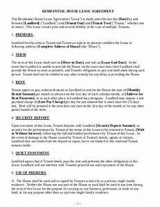 Residential Lease Agreement Format 15 Residential Lease Agreement Templates In Google Docs