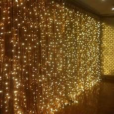 String Fairy Wedding Curtain Light Details About 300 Led 3m Fairy Curtain String Lights
