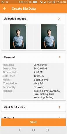 Create My Bio Data Easy Biodata Maker Create Biodata S In Minutes For