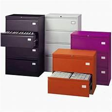 silverline 3 drawer side filing cabinet purple