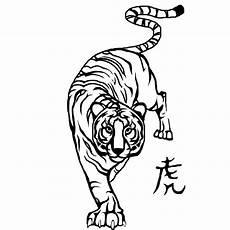 Simple Tiger Outline Tiger Outline Eyecatchingtattoos Cliparts Co