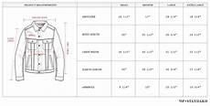 Mens Jacket Size Chart The Denim Jacket Wp Standard