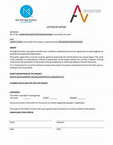 What Is Letter Of Intent Make A Good The Letter Of Intent