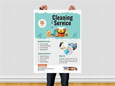 Service Advertisment Cleaning Service Flyer Template By Ar Xihad On Dribbble