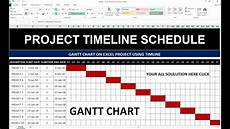 How To Create A Work Schedule On Excel 96 How To Make Project Timeline Schedule In Excel Hindi