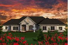 Home Design Story Sprawling Ranch House Plan 89923ah Architectural