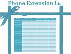 Phone Extension List Template Excel Phone Extension List Template Excel Icebergcoworking