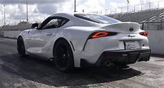2020 Toyota Supra Quarter Mile by Tuned 2020 Toyota Supra Already Setting Low 11 Second
