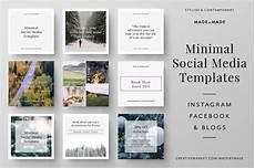 social media design templates minimal social media templates social media templates