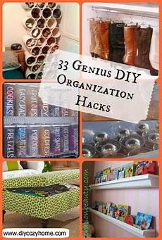 33 genius diy organization hacks
