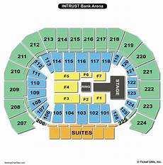 Intrust Bank Arena Seating Chart Seating Charts Amp Tickets