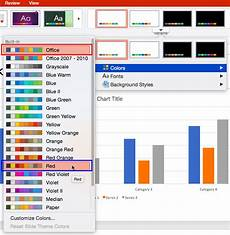 How To Create Powerpoint Theme Applying Theme Colors And Theme Fonts In Powerpoint 2016