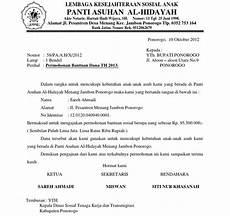 contoh surat dinas undangan ketua osis surat 27