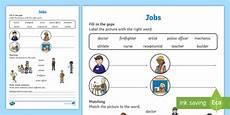 Job Club Activities Jobs Worksheet Worksheet Worksheet