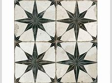 Otto Star Black Decorative Tiles   Stone Superstore