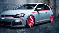 Vw Golf Gti Lights Vw Golf 7 2013 Light Tron Tuning Showcar Youtube