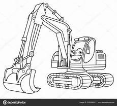 Malvorlagen Bagger Java Malvorlagen Mit Bagger Stockvektor 169 Sybirko 333098060