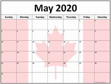 2020 Calendar Canada Collection Of May 2020 Photo Calendars With Image Filters