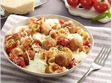 Orecchiette with Mini Chicken Meatballs Recipe   Giada De
