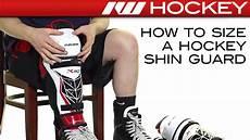 How To Size A Hockey Shin Guard Youtube
