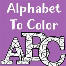 Alphabet Letters Printable Printable Alphabet Letters To Color Make Breaks