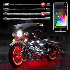 Led Light Kits For Motorcycles 14 Pod 12 2nd Gen Xkchrome App Control Motorcycle