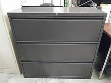 lateral filing cabinet 42 wide 3 drawer commercial grade