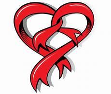 Heart With Ribbon Designs Heart Shaped Ribbon Free Vector Art Free Vector Art