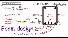 Beam Design Charts Rcd Beam Design Design Of Single Reinforced Concrete
