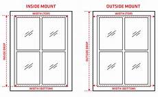 Window Measurements How To Measure Your Window For Roller Blinds Zone Interiors
