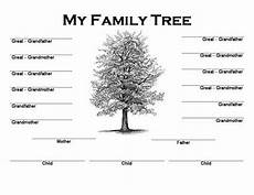 Family Tree Outlines Free Image Result For Family Tree Maker Free Printable Blank
