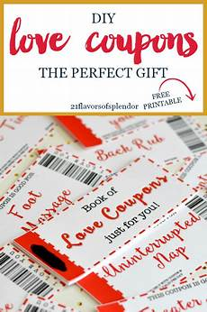 Free Easy Printable Coupons Free Printable Love Coupons The Perfect Gift Love