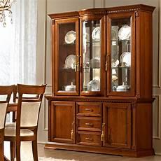 treviso ornate cherry wood 2 door 3 drawer sideboard
