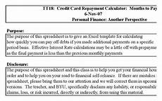 Credit Card Repayment Spreadsheet Download Credit Card Repayment Spreadsheet For Free