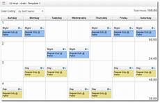 2 Weeks On 1 Week Off Roster Calendar 7 Different 12 Hour Shift Schedule Examples To Cover Round