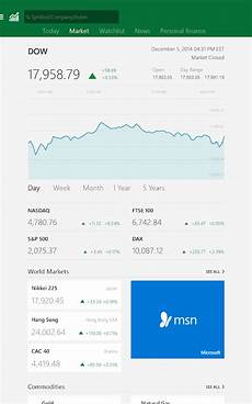 Msn Stock Market Msn Money Stock Quotes Amp News 1 1 0 Apk Download