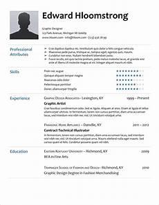 Ms Resume Templates Free 45 Free Modern Resume Cv Templates Minimalist Simple