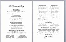 Catholic Wedding Mass Program 5 Catholic Wedding Program Examples Amp Templates Download