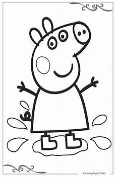 Peppa Pig Ausmalbilder Peppa Pig сoloring Pages For