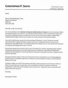 Cover Letters For College Graduates Recent Graduate Cover Letter