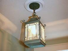 How To Change A Ceiling Light Fixture Replace Recessed Light With A Pendant Fixture Hgtv